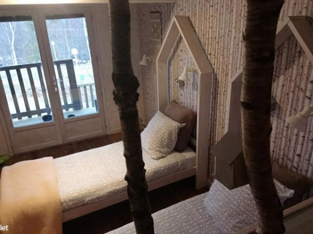 Une chambre aux Chalets du Goulet