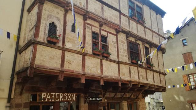 Facade Maison Lacanourgue 1