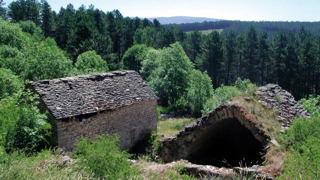 Village mort du Gerbal sur le Causse