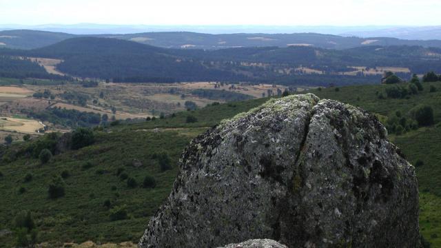Rocher en Margeride (Lozère)