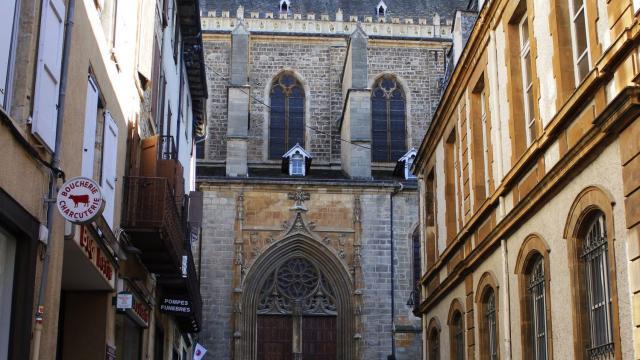 Rue de la Rovere - Porte Nord Cathedrale de Mende