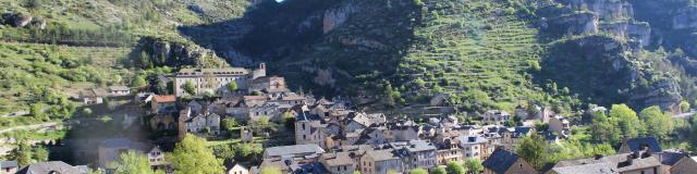 Vue de Sainte-Énimie