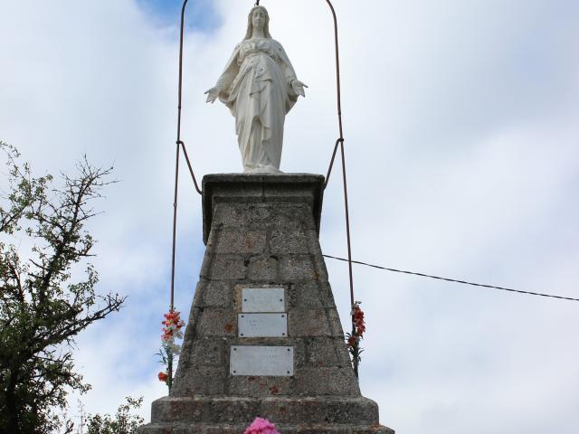 Vierge de Cénaret à Barjac