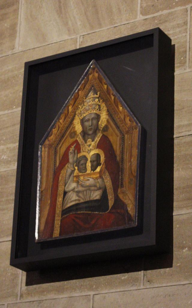 Représentation Urbain V (XIVe) - cathédrale de Mende