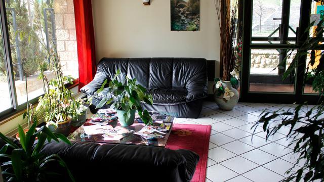 Réception de l'hôtel Mimat à Mende
