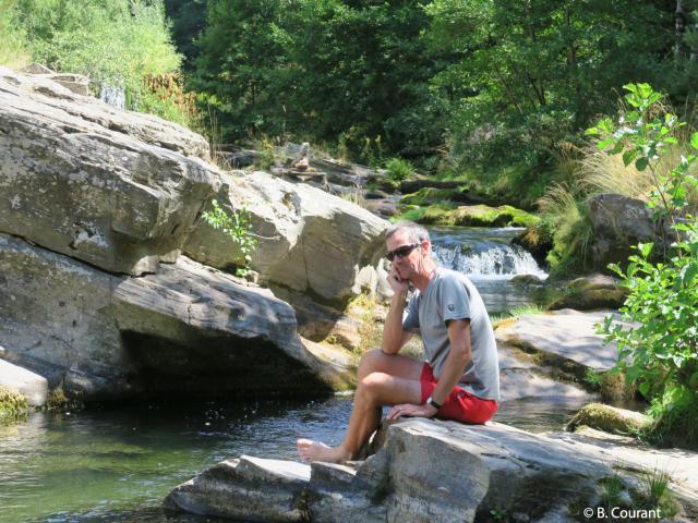 Benoit Courant, accompagnateur en montagne