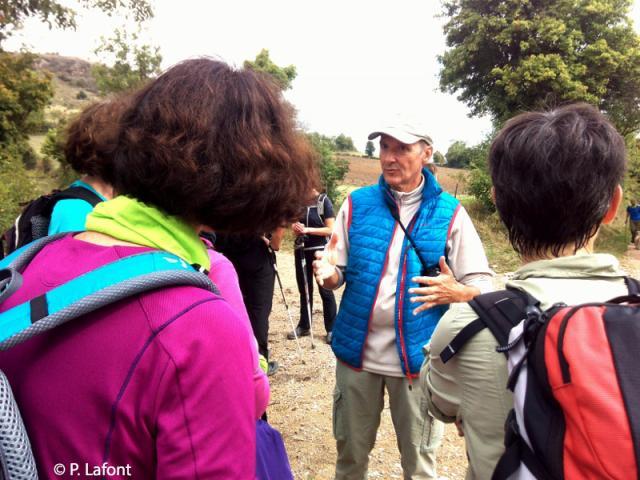 Patrice Lafont, accompagnateur en montagne, en rando