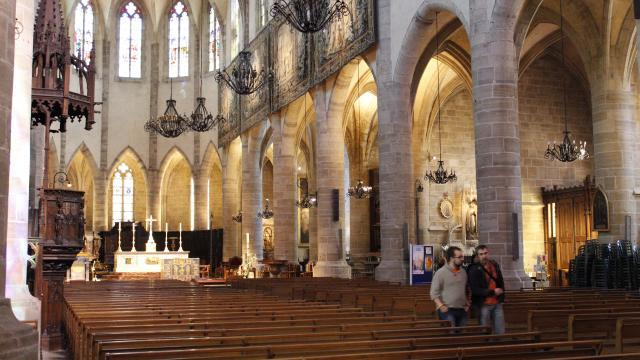 Intérieur de la cathédrale de Mende