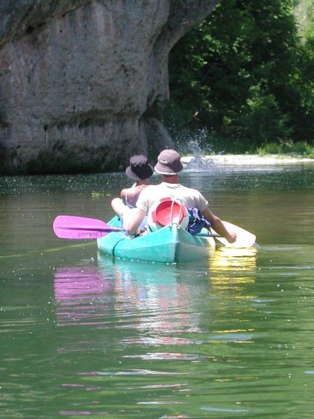 Equipe Canoe Bleu
