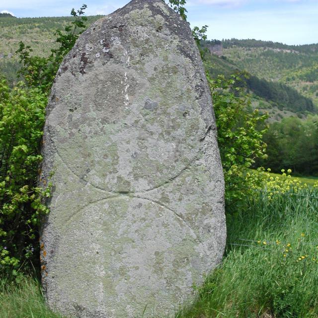 Le Menhir du Boy dans le Valdonnez de Lozère