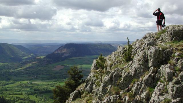 Vue sur le Valdonnez et le Truc de Balduc