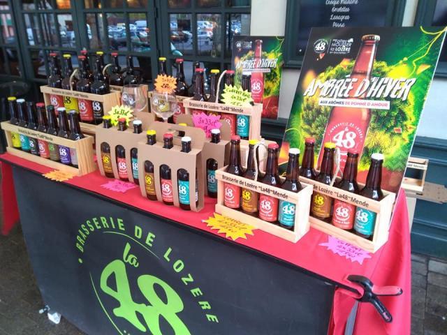 Bièrela48 Etal Bouteilles