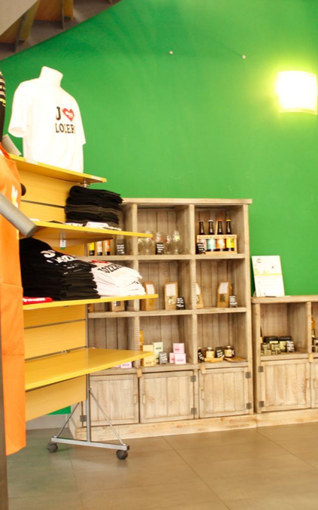 La boutique de l'Office de Tourisme de Mende