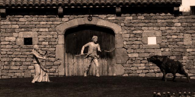 Sculpture Bête Malzieu