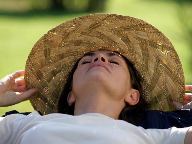 Sieste Femme Chapeau Paille Phovoir