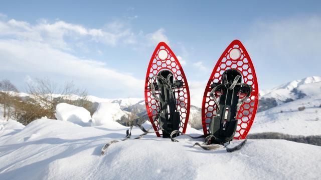 Hiver Ski Raquette Neige©phovoir