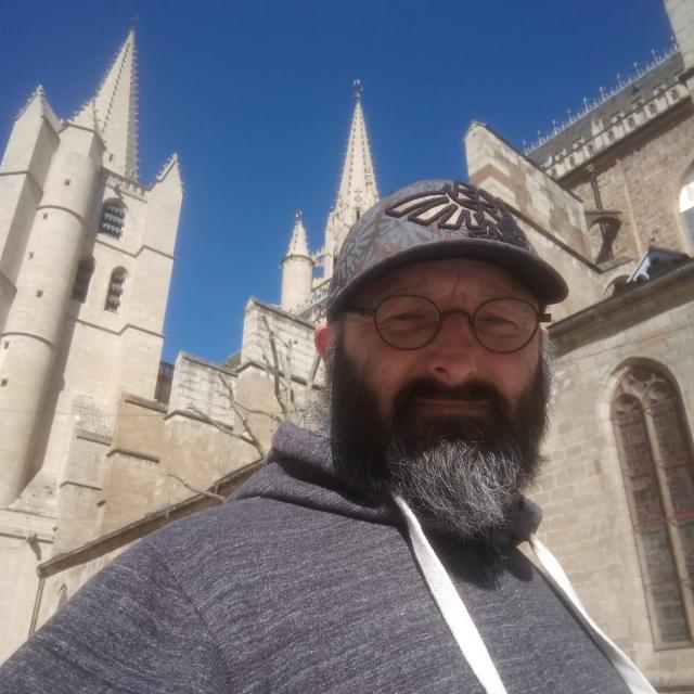 La Cathédrale de Mende vue par Loïc