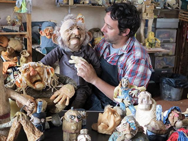 Atelier Marionnette © Singe Diesel