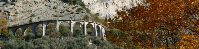 Castillon Viaduc Du Caramel