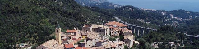 Gorbio Village Perche Littoral