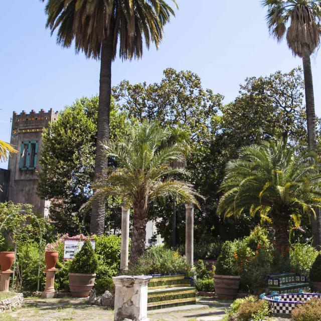 Menton Jardin Fontana Rosa