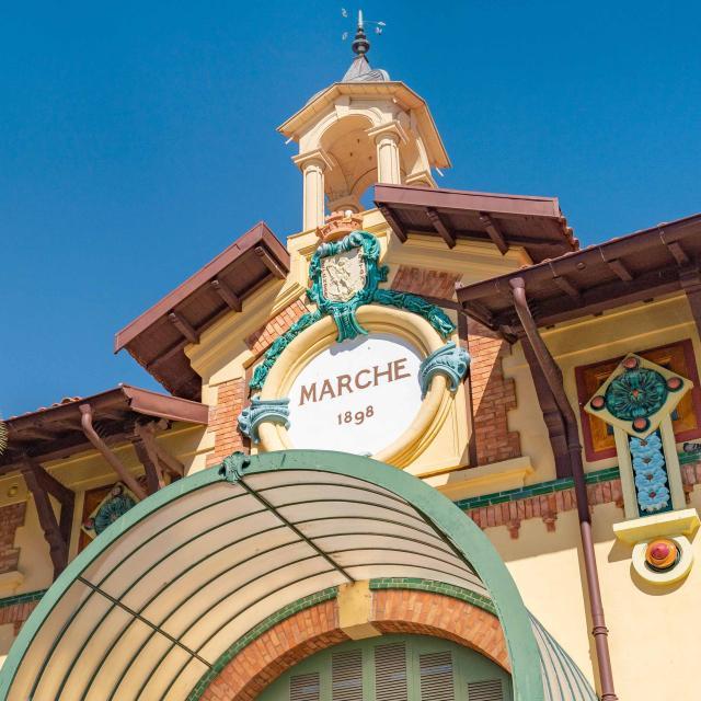 Menton Marche Des Halles Municipales
