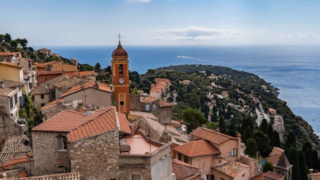Roquebrune Village Vue Sur Le Cap Martin