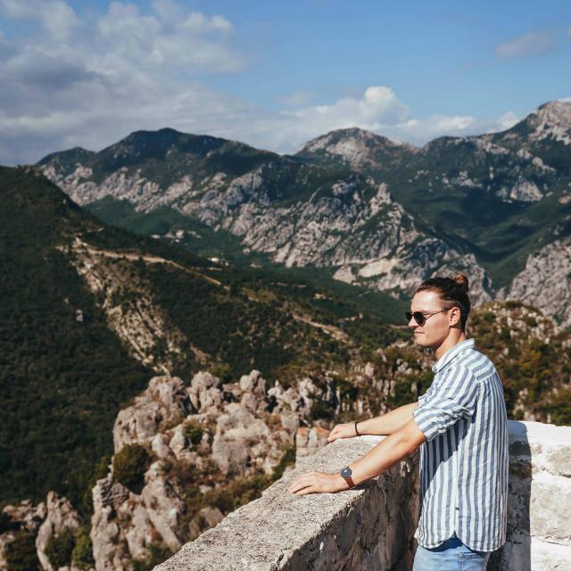Sainte Agnes Panorama Montagne