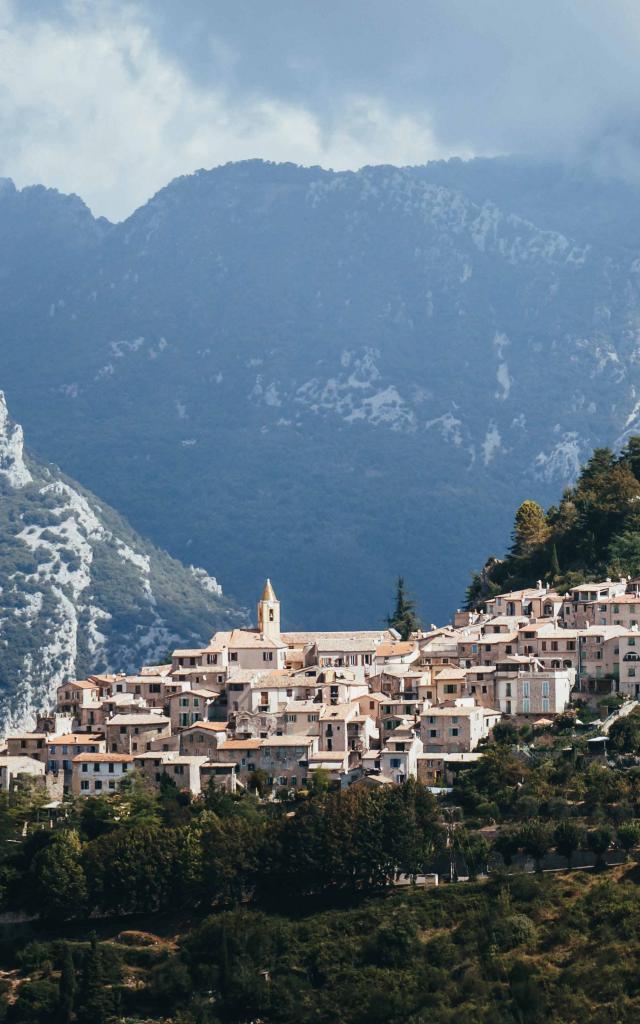 Sainte Agnes Village Perché Littoral
