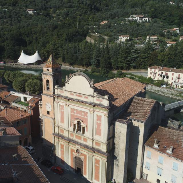 Breil Sur Roya Eglise Santa Maria Inalbis Ext