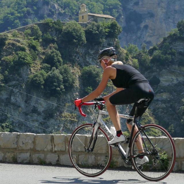 Col De Turini Route Grandes Alpes Cycliste @Drone De Regard