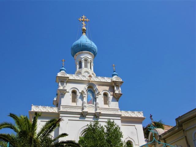 Eglise Russe Orthodoxe Menton