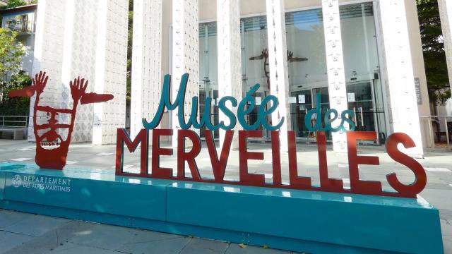 Entrée Musée des Merveilles