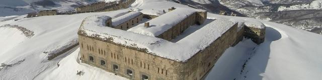 Fort de Tende enneigé