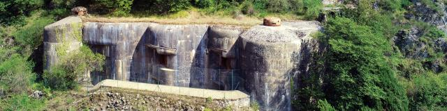 Fort Maginot à Sainte-Agnès
