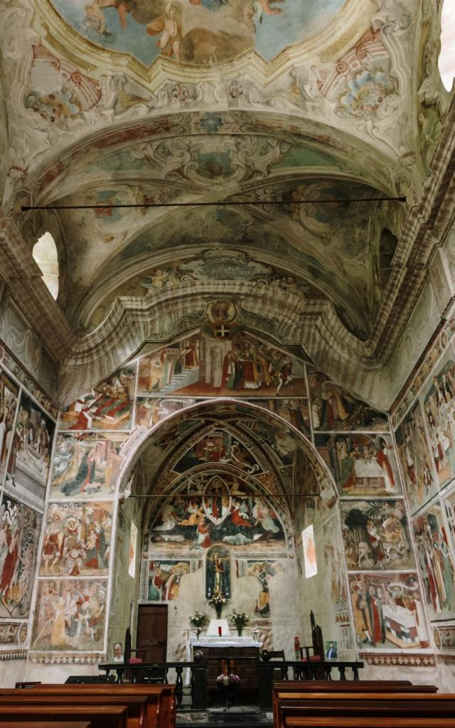 La Brigue Notre Dame Fontaine Chapelle Sixtine Pango Visual