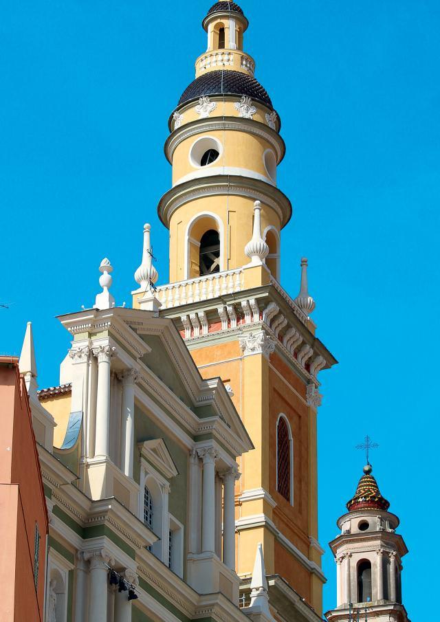 Menton Basilique Saint Michel