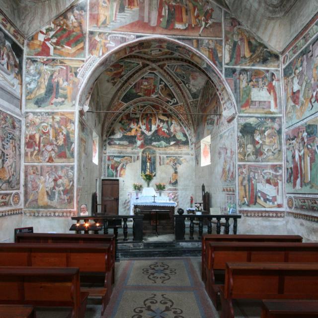 Notre Dame Des Fontaines La Brigue
