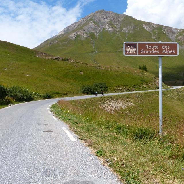 Panneau Route Des Grandes Alpes