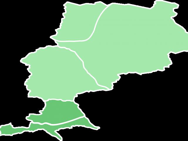 Carte de la Riviera et les villages perchés