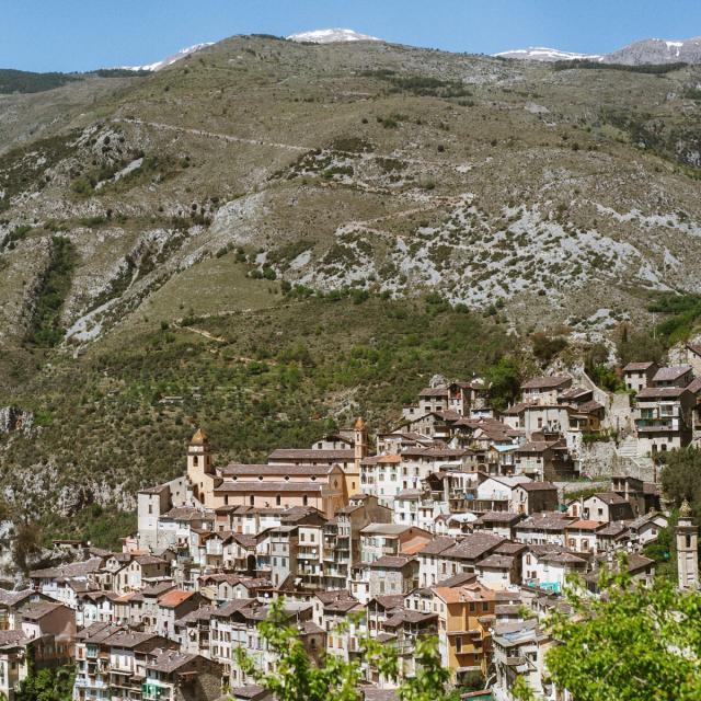 Saorge Village Accroché à la Montagne