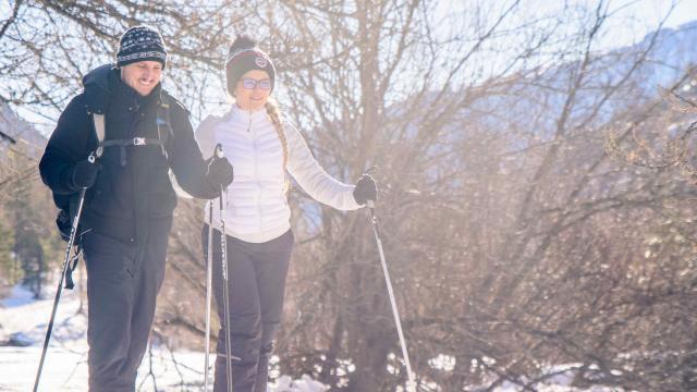 Ski De Fond Centre Nordique De Casterino
