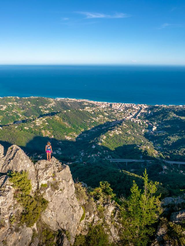 Trail Saint Agnes panorama