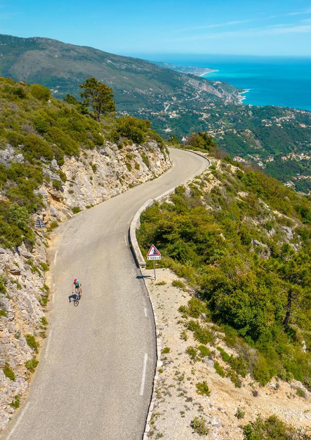 Vélo Route vue panoramique