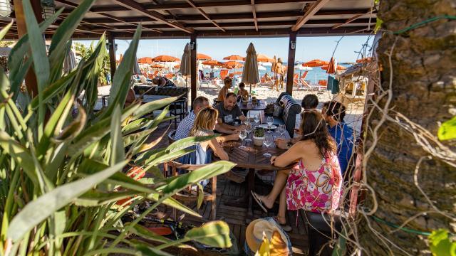 Dolce Vita Restaurant Bord De Mer Menton