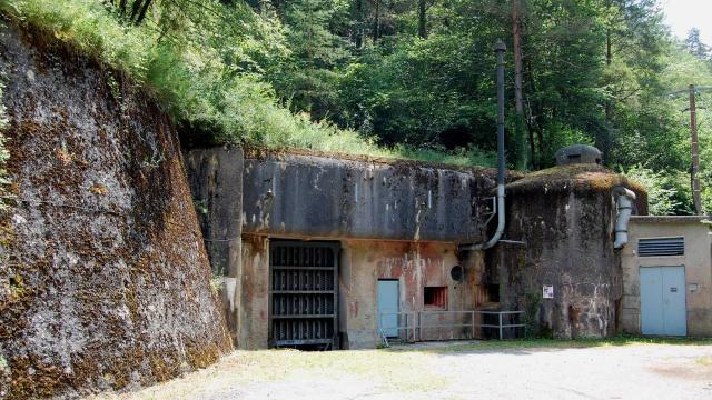 Fort St Roch à Sospel