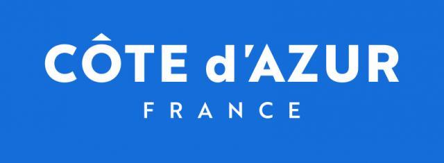 Logo Cote d'Azur France - bleu