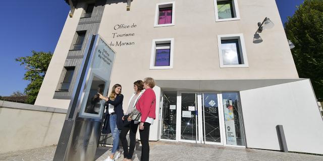 Entré de l'Office de Tourisme de Mont de Marsan