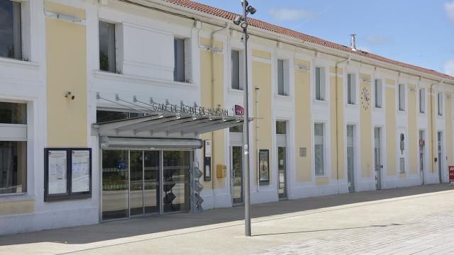 Gare SNCF à Mont de Marsan