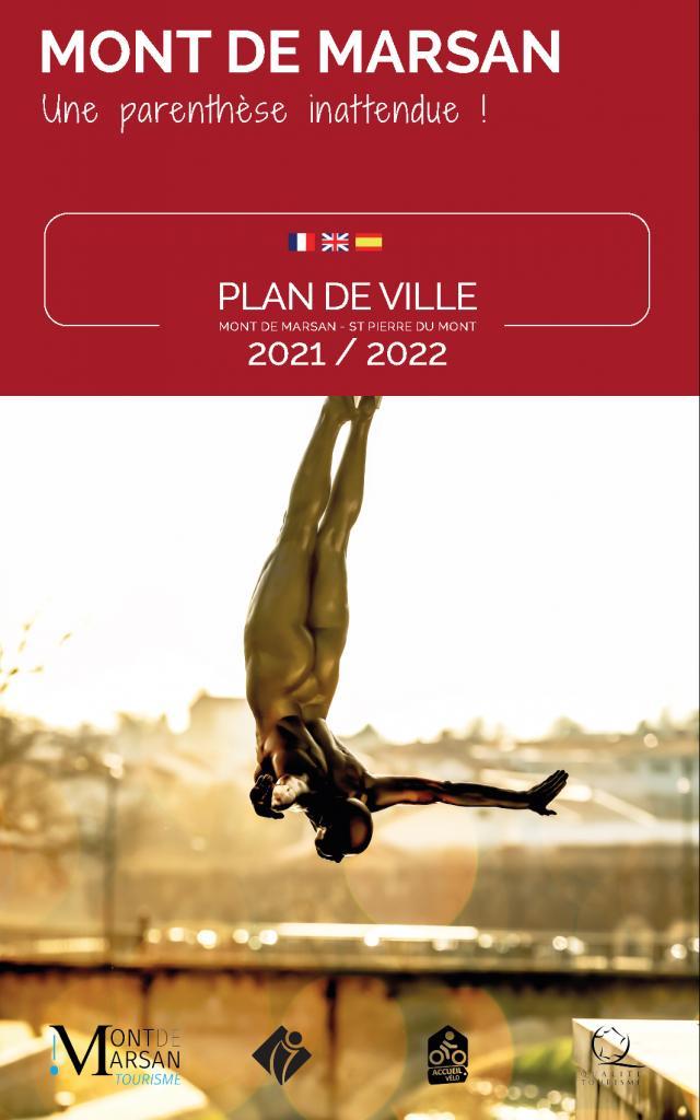 Couverture du plan de ville 2021